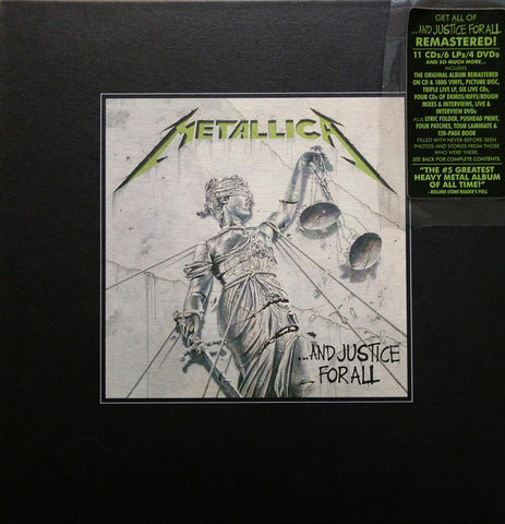 "Metallica - ...And Justice For All (Box, Dlx, Ltd, Num + 2xLP, Album, RM + 10"", Pic, R) - NEW"