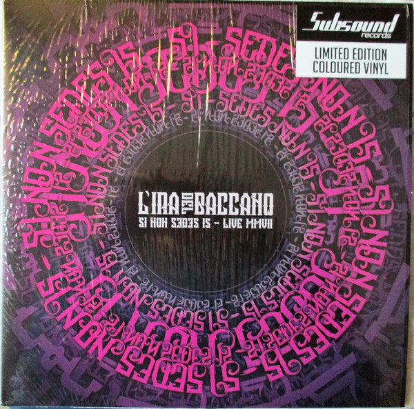 L'ira Del Baccano - Si Non Sedes Is - Live MMVII (2xLP, Album, Ltd, Pur) - NEW