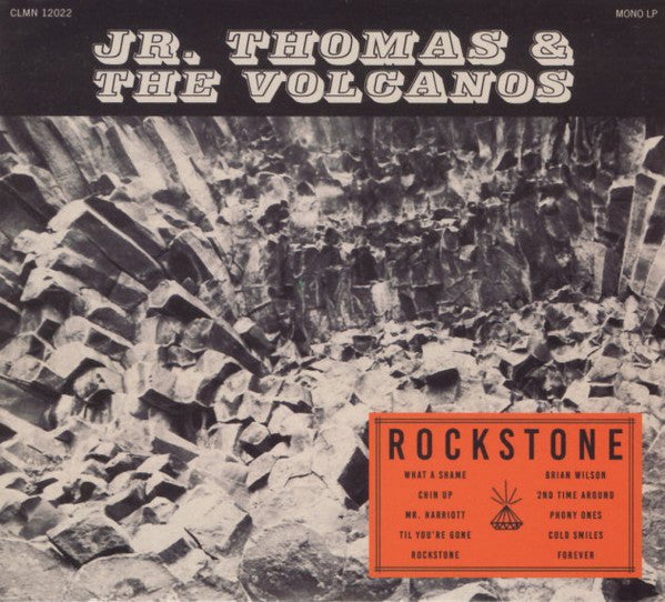 Jr. Thomas & The Volcanos - Rockstone (CD, Album, Dig) - NEW