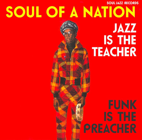 Various - Soul Of A Nation 2 (Jazz Is The Teacher Funk Is The Preacher: Afro-Centric Jazz, Street Funk And The Roots Of Rap In The Black Power Era 1969-75) (CD, Comp) - NEW