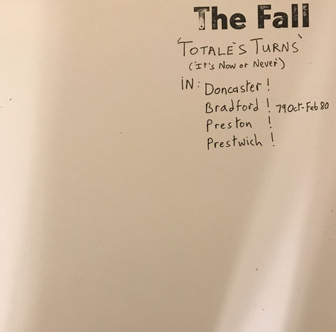 The Fall - Totale's Turns (It's Now Or Never) (LP, Album, RE) - NEW