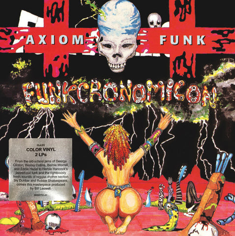 Axiom Funk - Funkcronomicon (2xLP, Comp, Red) - NEW