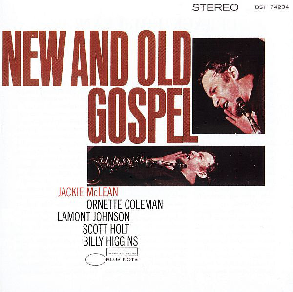 Jackie McLean - New And Old Gospel (CD, Album, RE, RM) - USED