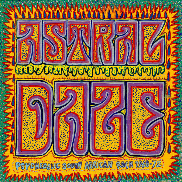Various - Astral Daze - Psychedelic South African Rock 1968-72 (LP, Comp) - NEW