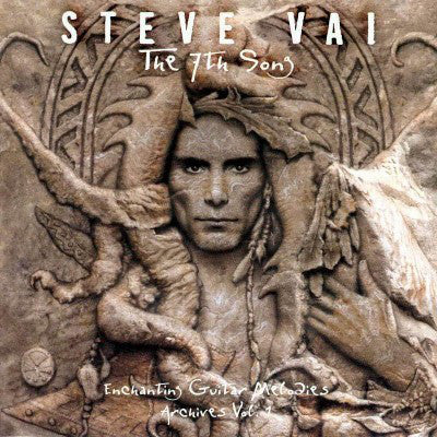 Steve Vai - The 7th Song: Enchanting Guitar Melodies - Archives Vol. 1 (CD, Comp) - USED