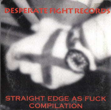 Various - Straight Edge As Fuck (CD, EP, Comp, Car) - USED