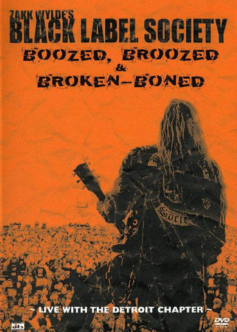 Black Label Society - Boozed, Broozed & Broken-Boned: Live With The Detroit Chapter (DVD, PAL) - USED