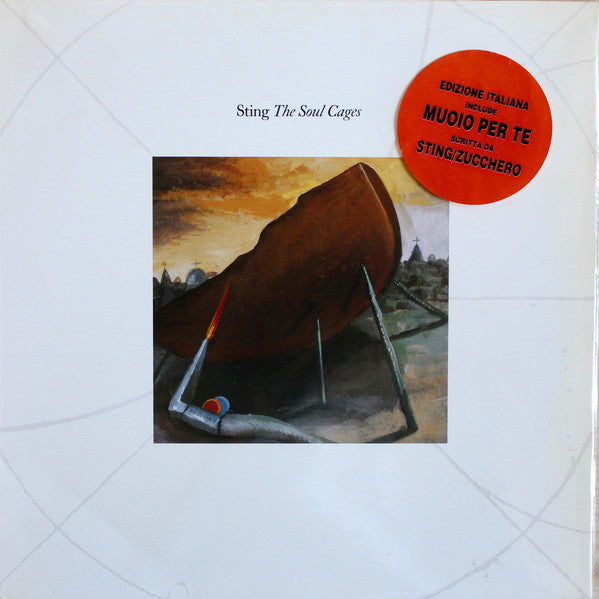 Sting - The Soul Cages (LP, Album) - USED
