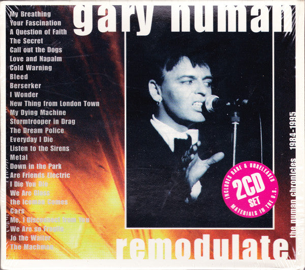 Gary Numan - Remodulate: The Numan Chronicles 1984-1995 (2xCD, Comp) - USED