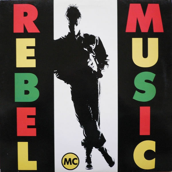 Rebel MC - Rebel Music (LP, Album) - USED
