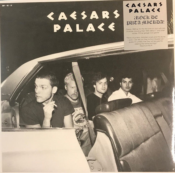Caesars Palace - ¡Rock De Puta Mierda! (LP, Comp, Ltd, Bla) - NEW
