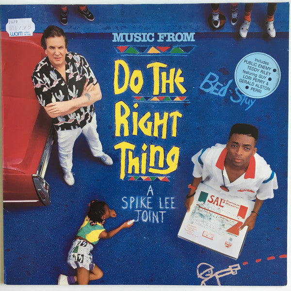 Various - Music From Do The Right Thing (A Spike Lee Joint) (LP, Album) - USED