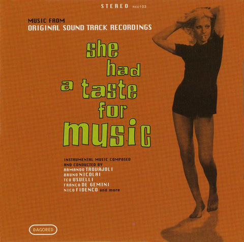 Various - She Had A Taste For Music (CD, Comp) - USED