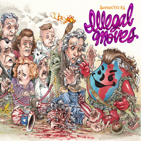 Sunwatchers - Illegal Moves (LP, Album) - NEW