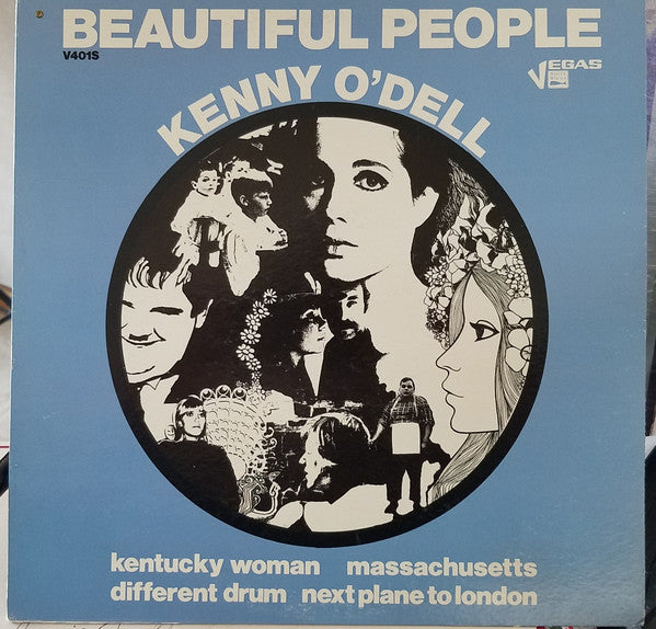 Kenny O'Dell - Beautiful People (LP, Album) - USED