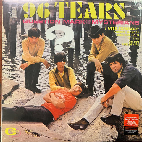 Question Mark And The Mysterians* - 96 Tears (LP, Album, Ltd, RE, RM, Cle) - NEW