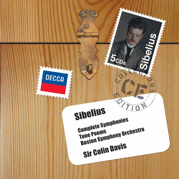 Sibelius* / Boston Symphony Orchestra, Sir Colin Davis - Complete Symphonies - Tone Poems (5xCD, RM + Box, Comp) - NEW