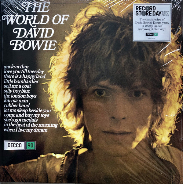 David Bowie - The World Of David Bowie (LP, Comp, Ltd, RE, Blu) - NEW