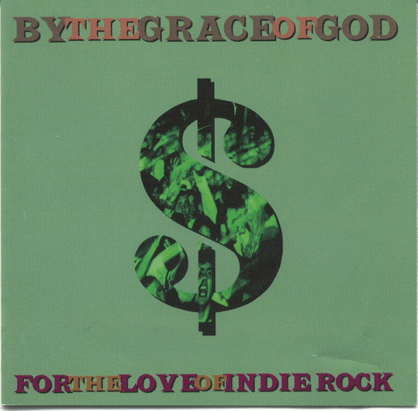 "By The Grace Of God - For The Love Of Indie Rock (7"", EP) - USED"