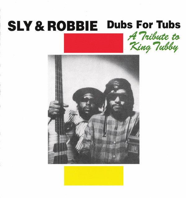Sly & Robbie - Dubs For Tubs - A Tribute To King Tubby (CD, Album, RE) - NEW