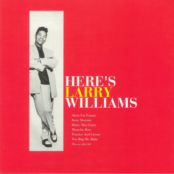 Larry Williams (3) - Here's Larry Williams (LP, Album, RE) - NEW