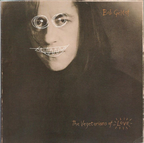 Bob Geldof - The Vegetarians Of Love (LP, Album) - USED