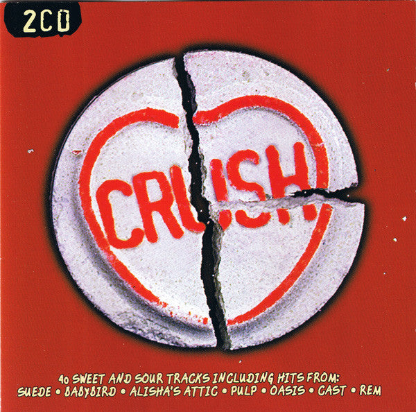 Various - Crush (2xCD, Comp) - USED