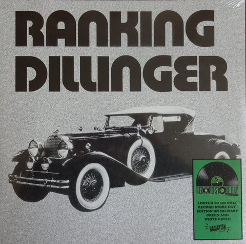Ranking Dillinger* - None Stop Disco Style (LP, Album, Ltd, RE, Mil) - NEW