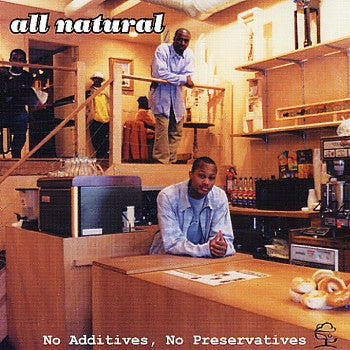 All Natural - No Additives, No Preservatives (CD, Album, RE) - USED