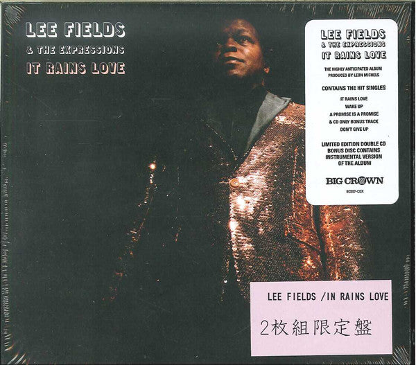 Lee Fields & The Expressions - It Rains Love (2xCD, Album, Dlx, Ltd) - NEW