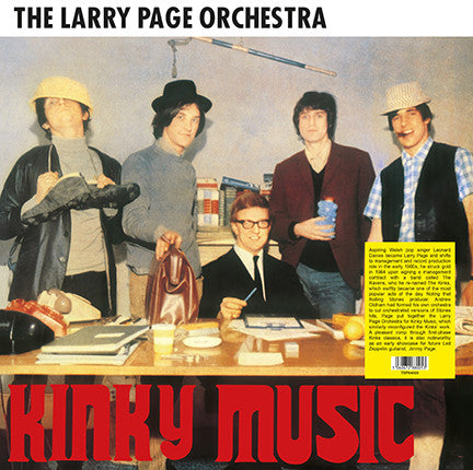 Larry Page Orchestra - Kinky Music (LP, Album, RE, 180) - NEW