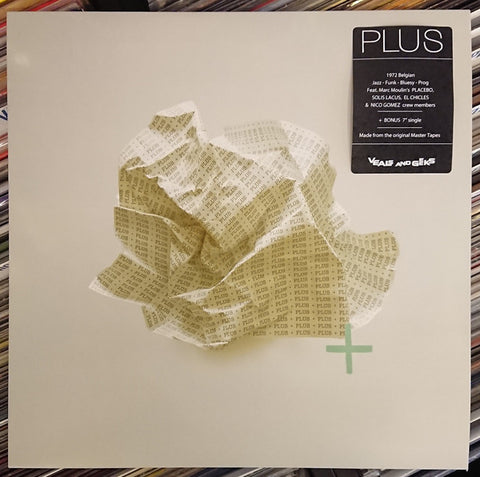 "Plus - Plus (LP, Album + 7"", Single) - NEW"