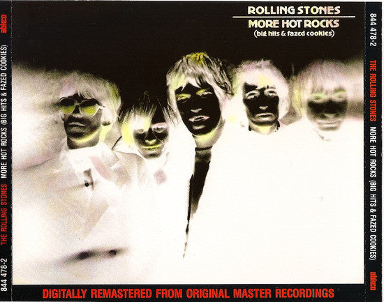 The Rolling Stones - More Hot Rocks (Big Hits & Fazed Cookies) (2xCD, Comp, RE, RM) - USED