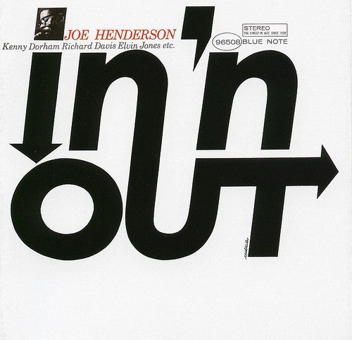 Joe Henderson - In 'N Out (CD, Album, RE, RM) - USED