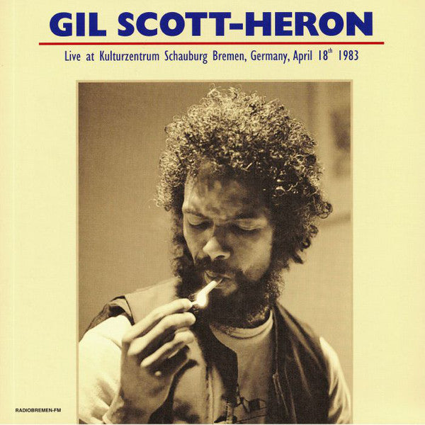 Gil Scott-Heron - Live At Kulturzentrum Schauburg Bremen Germany April 18th 1983 (2xLP, Unofficial) - NEW