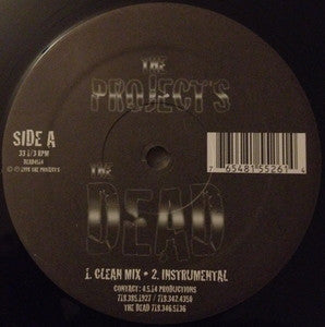 "The Dead* - The Projects (12"") - NEW"