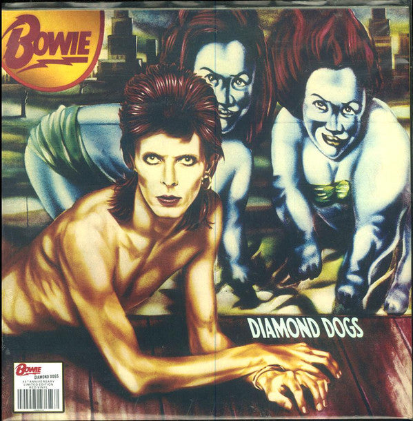 Bowie* - Diamond Dogs (LP, Album, Ltd, RE, RM, Red) - NEW