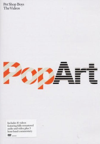 Pet Shop Boys - PopArt (The Videos) (DVD-V, Comp, RM, PAL) - USED