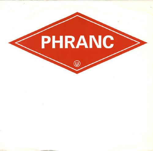 "Phranc - Bulldagger Swagger / Hillary's Eyebrows (7"", Single, Red) - USED"