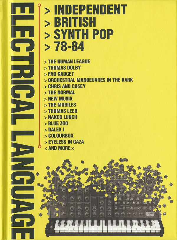 Various - Electrical Language (Independent British Synth Pop 78-84) (4xCD, Comp) - NEW