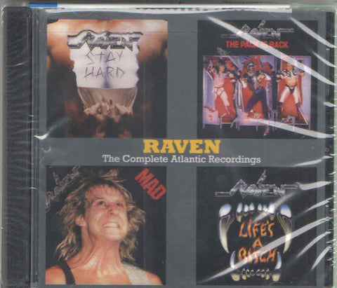 Raven (6) - The Complete Atlantic Recordings (2xCD, Comp) - USED