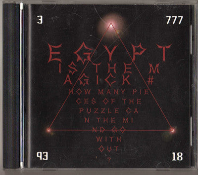 Egypt Is The Magick # - How Many Pieces Of The Puzzle Can The Mind Go Without? (CD, Album) - USED