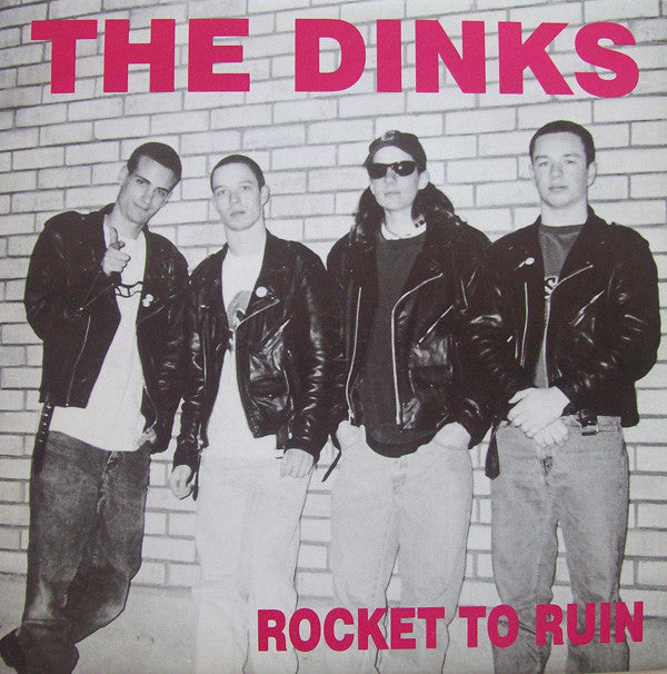"The Dinks - Rocket To Ruin (7"", EP) - USED"