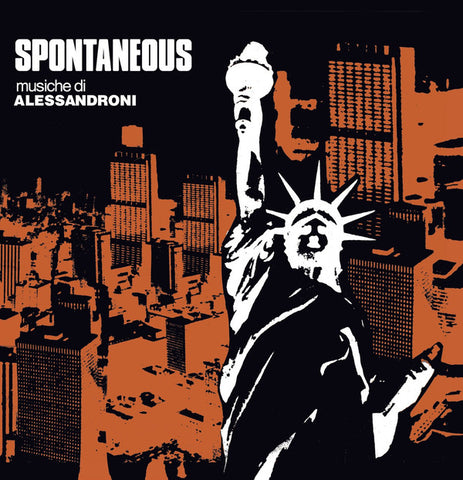 Alessandro Alessandroni - Spontaneous (LP, RE, RM) - NEW