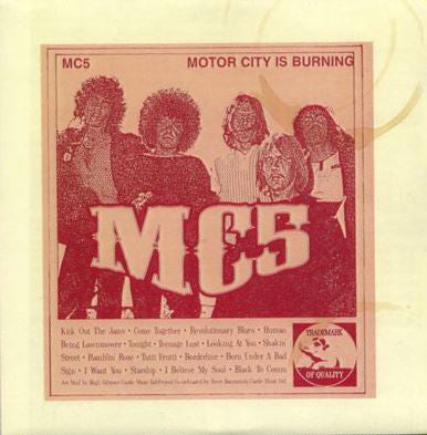 MC5 - Motor City Is Burning (2xLP, Comp, Gat) - USED
