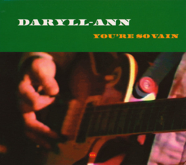 Daryll-Ann - You're So Vain (CD, Maxi, Dig) - USED