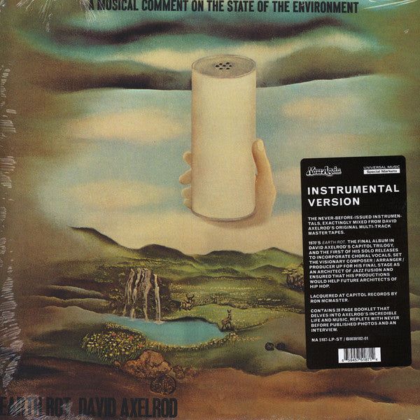 David Axelrod - Earth Rot Instrumental Version (LP, RE) - NEW