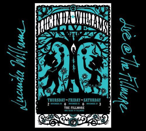 Lucinda Williams - Live @ The Fillmore (2xCD, Album, Dig) - USED
