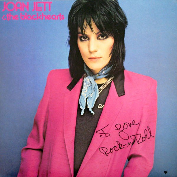 Joan Jett & The Blackhearts - I Love Rock 'N Roll (LP, Album) - USED