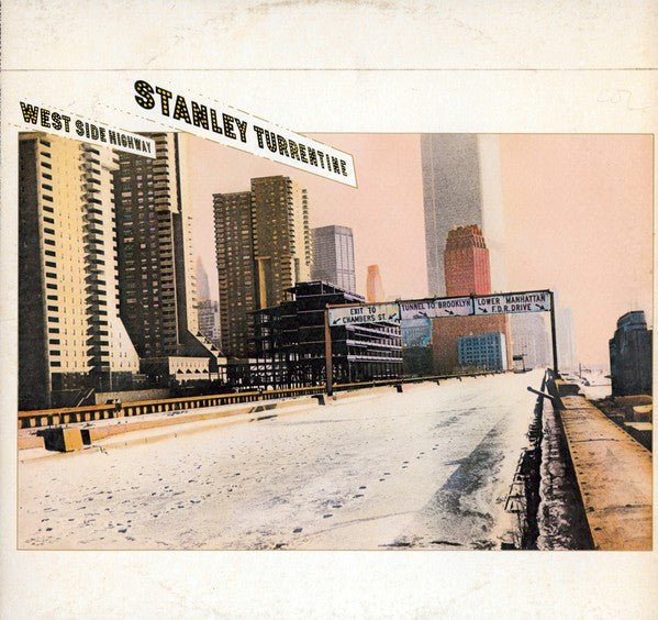 Stanley Turrentine - West Side Highway (LP, Album) - USED